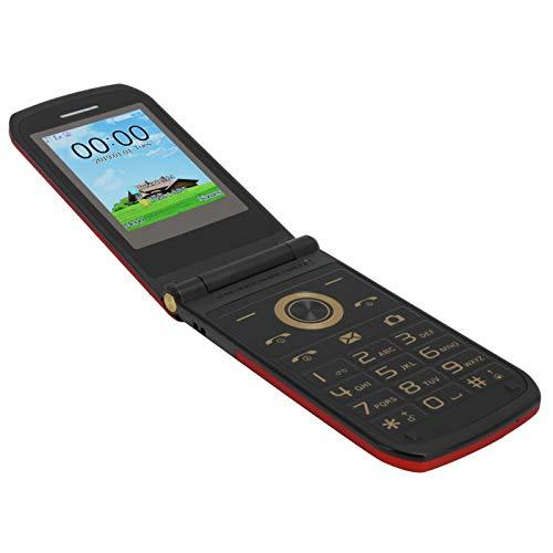 Teléfono Celular E7 de 2.4 Pulgadas, Mini teléfono con Tapa, teléfono móvil QCIF en Varios Idiomas, teléfono Celular Duradero para niños, Anciano MTK 6261D 100‑240V(EU)