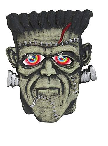 Widmann Monster Heads W/Colour Changing Eyes