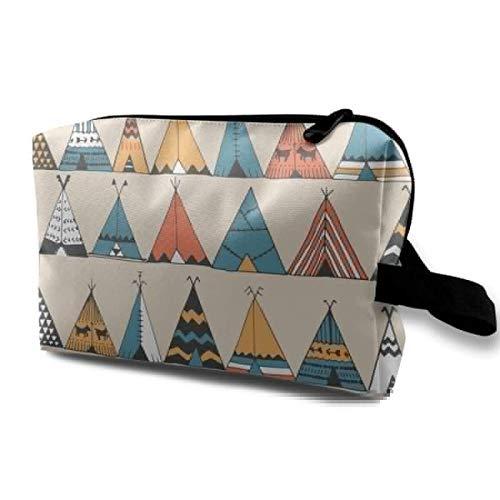 wenxiupin Carpas Personalizadas Bolso cosmético para el Cuidado de la Piel de Las señoras Bolso cosmético portátil Bolsillo de Viaje Impermeable,