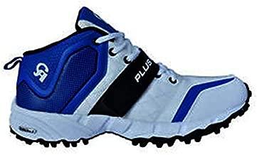 Cricket Shoes CA Plus Edition White,Black&Blue