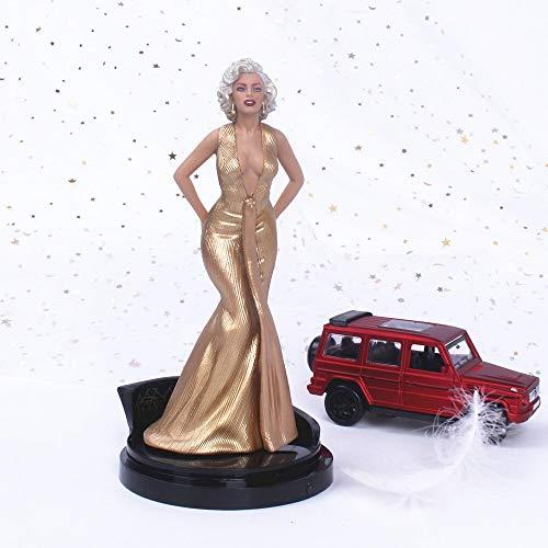 Dhl Marilyn Monroe Estatua del hogar Modelo decoración de la Torta del carácter Modelo de la decoración del 18CM