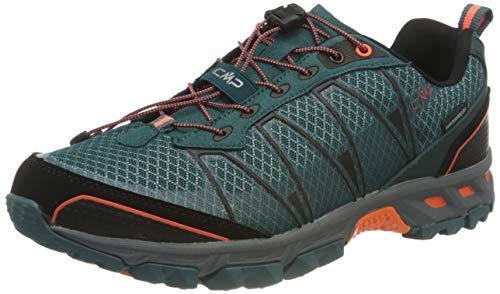 CMP Herren ALTAK WP Trail Running Shoe, Petrolio-ORANGE Fluo, 41 EU