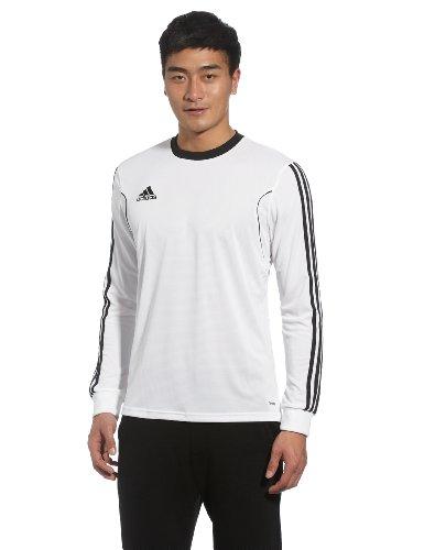 adidas Squad 13 - Camiseta de Deporte (Manga Larga), Color Negro y Blanco Blanco, Negro Talla:Extra-Large