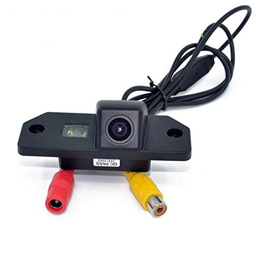 GOFORJUMP Caméra de recul CCD HD pour Voiture, Vue arrière F/ord Focus Berline 3C pour la Mise au Point Normale (3C) M/Onde 2000-2007 averick 2013 / F/Ox Hatchback 2006-2013 / S-Max