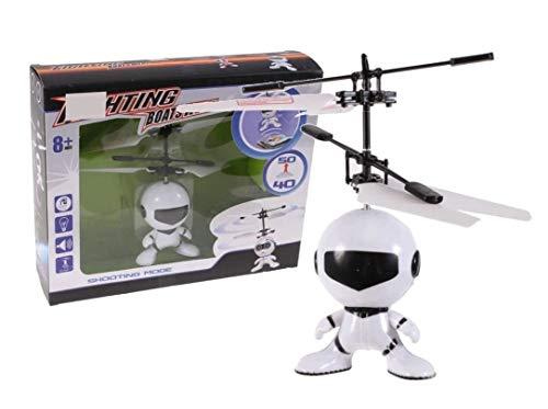 Nieuw! Zwevende astronaut – infraroodsensor/handbediening/accu/ledverlichting – hightech RC-speelgoed merk HUKITECH zoals vliegtuighelikopter handgestuurd