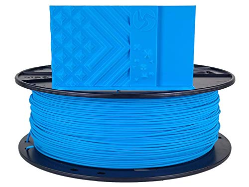 3D Fuel Standard PLA 3D Printing Filament, Made in USA with Dimensional Accuracy +/- 0.02 mm, 1 kg 1.75 mm Spool (2.2 lbs) in Fjord Blue