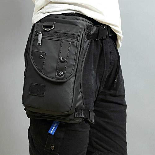 Vinciann Borsa URBAN COWBOY marsupio tracolla da cintura borsello moto compatibile con iPad mini e tablet di dimensioni analoghe S-LYNESS