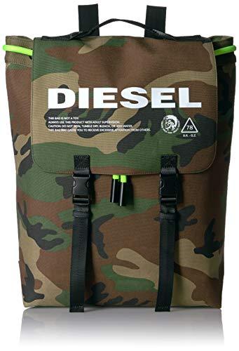 Diesel Herren VOLPAGO Backpack Rucksäcke, Camouflage, Einheitsgröße