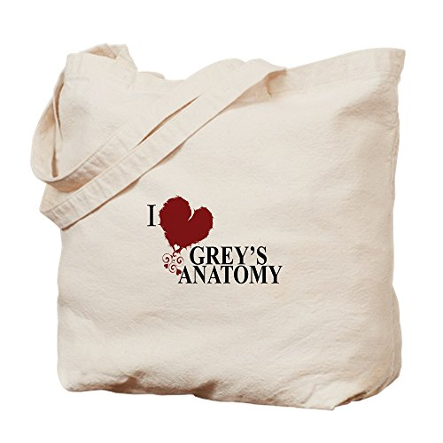 Grey's Anatomy dunkel nicht - ich liebe Tote Bag - MULTI-Farbgebung in Standardgröße