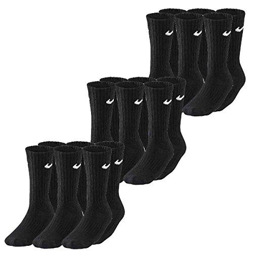 Nike Herren Damen Socken Sx4508 001, Schwarz, XL