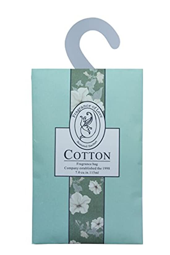 Feel Fragrance  Scented Sachets with Hanger for Closet,room, Drawers, or Cupboards Pack of 6 (Cotton)