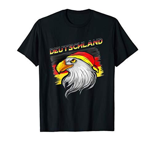 Deutschland Fahne Weißkopfadler Bundesadler Patriot Geschenk T-Shirt