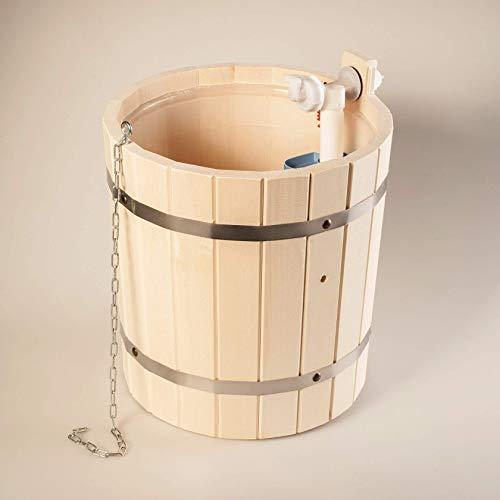 Sauna bath bucket for shower 9 l SPA pool Jacuzzi waterfall