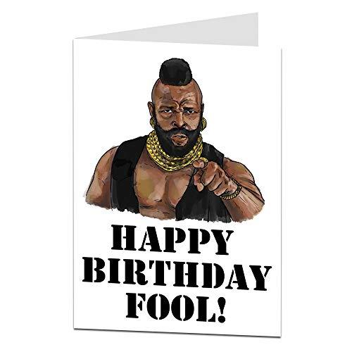 Funny Happy Birthday Fool Card