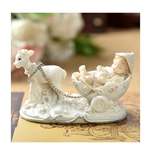 JSZMD El Columpio Infantil Sala de Angel Doll niños de la decoración mobiliario de bebé Lindo (Color : C)