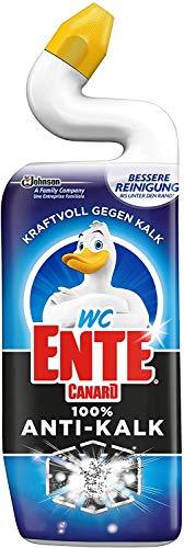 WC Ente 100% Anti-Kalk Flüssiger WC-Reiniger, Toilettenreiniger, 1er Pack (1 x 750 ml)