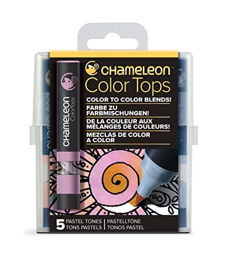 Chameleon Art Products - 5 Color Tops; Puntas de mezcla Chameleon; Tonos Pastel