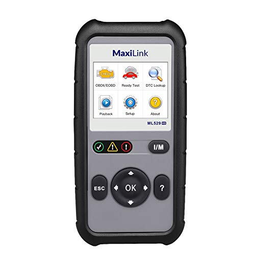 Autel MaxiLink ML529HD OBD2-Diagnosegerät Deutsches Auslesegerät für Nutzfahrzeuge, alle OBD2 Funktionen und riesen Datenbank inkl. Software Free Update