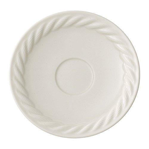 Villeroy & Boch Montauk Plato para taza de expreso, 12 cm, Porcelana Premium, Blanco