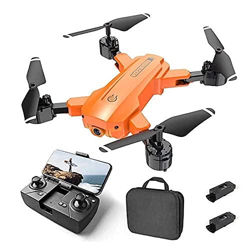 Drone con telecamera Drone Posizionamento del flusso ottico Quadricottero RC con telecamera HD 4K, modalità senza testa di mantenimento dell'altitudine, Droni FPV pieghevoli Wifi Live Video 3D Flip Ea