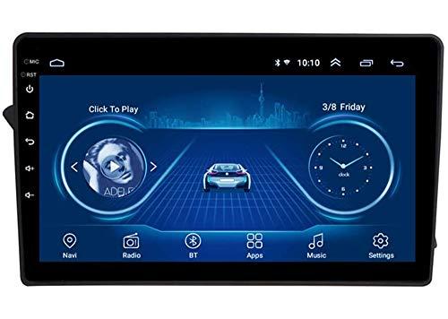 LYHY Compatible con Audi A4L 2008-2014 Android 9.0 Car Stereo Radio Double DIN Sat Nav Navegación GPS Reproductor Multimedia con Pantalla táctil de 9 Pulgadas Receptor de Video con 4G DSP Carplay