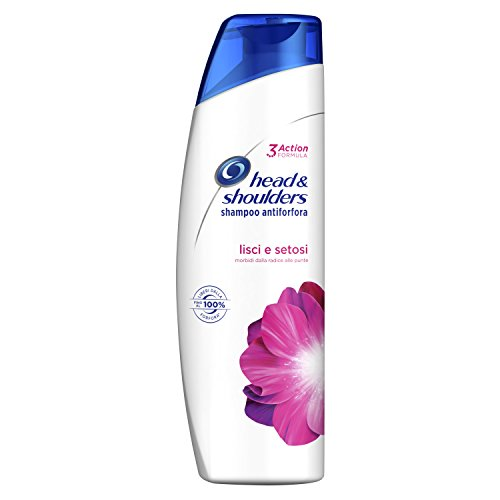 Head & Shoulders Lisci e Setosi Shampoo Antiforfora, 250ml