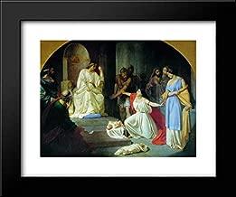 The Judgment of King Solomon 18x15 Framed Art Print by Nikolai Ge
