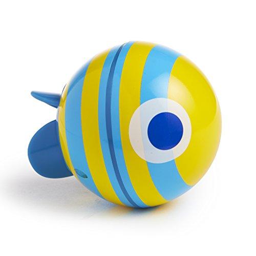 Munchkin Spinball Fish Bath Toy, Blue