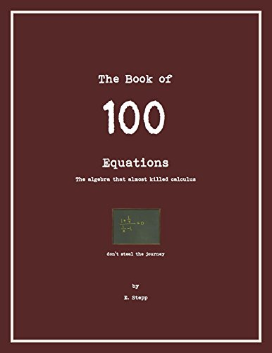 100 Equations: The Algebra that Almost Kills Calculus (100 Series Book 1) (English Edition)