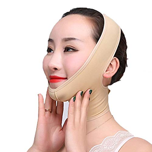 AQWESD V-Line Chin Cheek Lift Up Band sans Douleur, artefact de Visage Mince pour réduire Le Double Menton et Anti-Rides adapté aux Femmes et aux Hommes