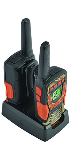 Cobra Floating 37-Mile Camo Walkie Talkies, Refurbished | CXT1035R-FLT-CAMO