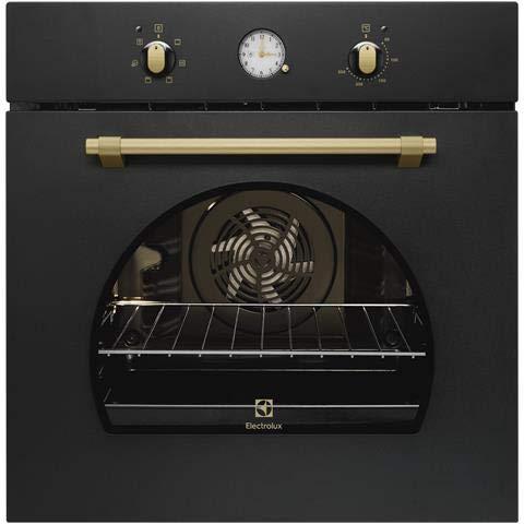 Electrolux ROB3201AOR forno Forno elettrico 72 L Nero A