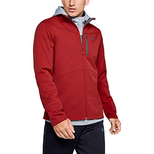 Under Armour Coldgear Infrared Shield Veste pour Homme Moyen Stadium Red (610) / Pitch Gray