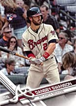 2017 Topps Factory Variation Baseball #87 Dansby Swanson Rookie Card