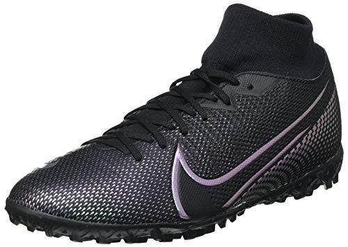Nike Superfly 7 Academy TF, Botas de fútbol Hombre, Negro (Black/Black 010), 47.5 EU