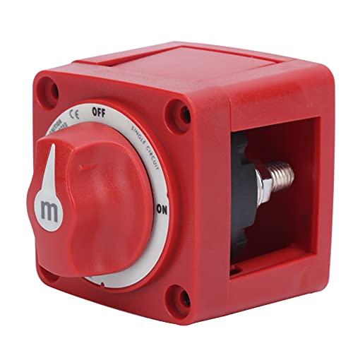 Interruptor de batería para yates, interruptor maestro marino confiable para yates para barcos a gasolina