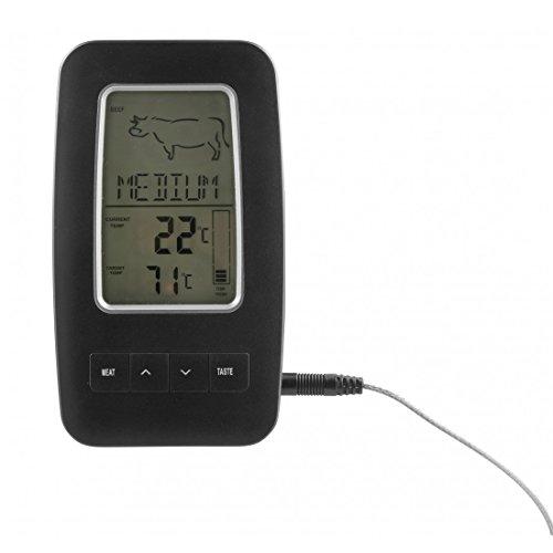 Dangrill Thermomètre à viande sans fil noir