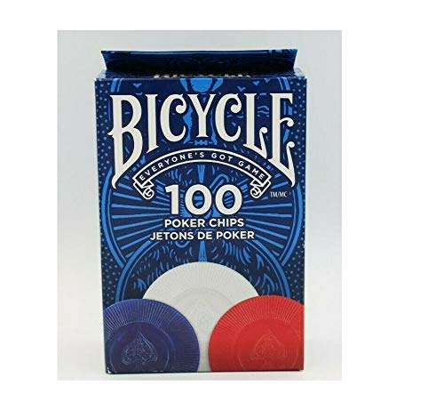 Novelty Corp Fichas Bicycle Póker 100 Fichas
