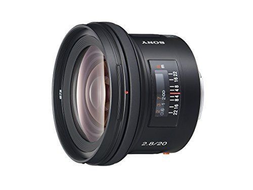 Sony sal-20f28 20mm f/2. 8 wide angle lens for sony alpha digital slr camera