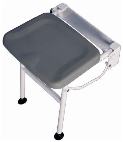 Aidapt VB544 Kompakter, gepolsterter Dusch-Stuhl Solo mit Standbein