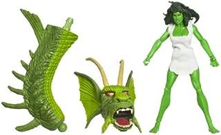 Incredible Hulk Legends Build A Figure - Savage She-Hulk