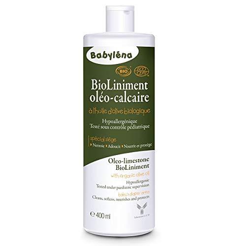 BABYLENA - Liniment Oléo Calcaire Bio 400Ml À L'Huile D'Olive 400Ml