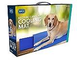 RSPCA pet cooling mat medium/large dog puppy pet care summer non-toxic gel pad freeze dog bed dog mat pet supplies 80x95cm blue cat mat