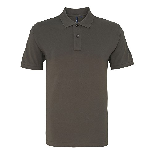 Asquith & Fox Asquith and Fox Men's Polo, Gris (Slate 000), XX-Large (Taille Fabricant: 2XL) Homme