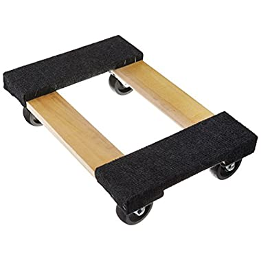 50-5401 TruePower 18  X 12  Mover's Dolly, 1000lbs Furniture Appliance, 4 x 3  Rubber Swiveable Casters