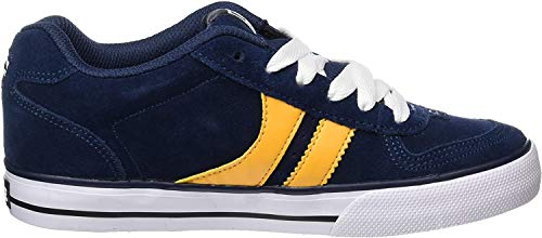 GLOBE Encore-2, Zapatillas de Deporte Hombre, Azul (Navy/Yellow 000), 37.5 EU