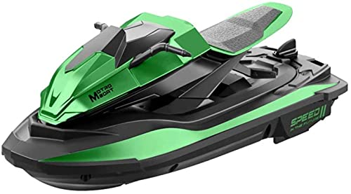 Piscina & Lake Remote Control Boat 2.4G Giocattoli da partito per bambini ad alta velocità RC per bambini e adulti Protezione batteria