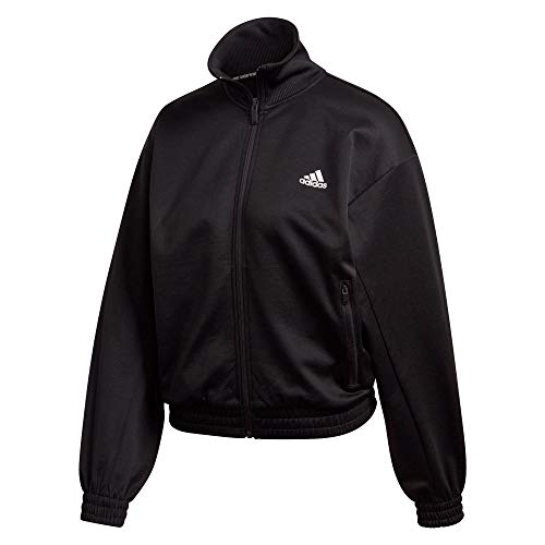 Adidas The Mh Track Jkt Serbatoio, Black, M Donna