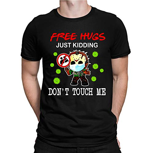 Jason-Voorhees Chibi Free Hugs Just Kidding Dont Touch Me T-Shirt