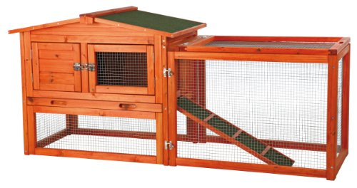TRIXIE Pet Products Rabbit Hutch with Outdoor Run | Chewy
